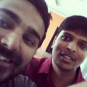 My friend Amit, we met after i left my school in class 6. :D