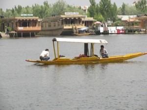 Dal Lake, romantic as ever. :)