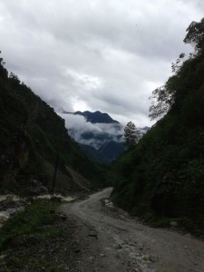 On way to Lachen, North Sikkim.