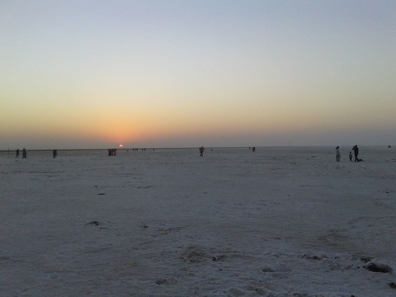 eveining at rann of katch