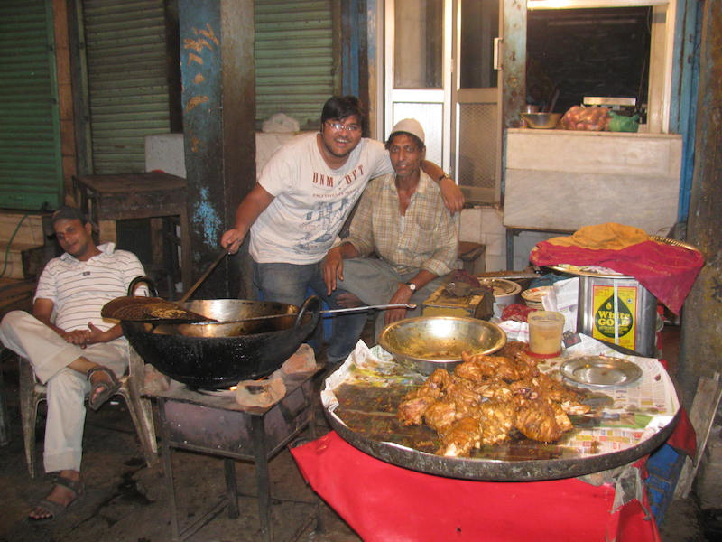 late night food hunt purani delhi