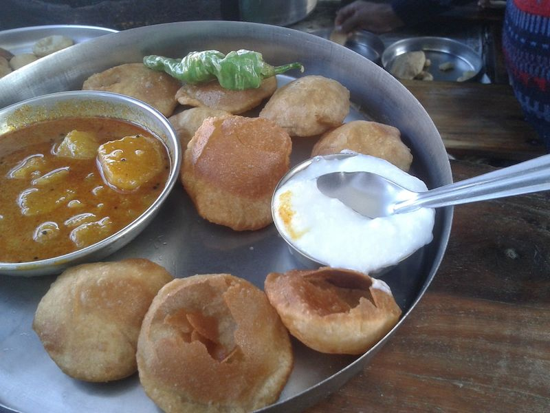 poori sabzi at katch