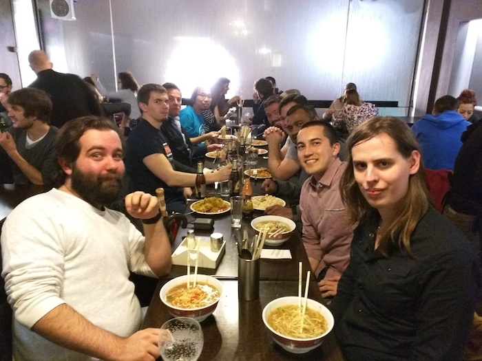 Golang speakers dinner